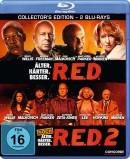 Amazon.de: R.E.D. – Älter. Härter. Besser / R.E.D. 2 [Blu-ray] für 7,99€ + VSK