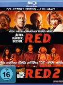 Amazon.de: R.E.D. – Älter. Härter. Besser / R.E.D. 2 [Blu-ray] für 6,79€ + VSK