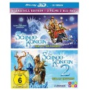Amazon.de: Die Schneekönigin 1+2 3D [2 Blu-rays 3D] für 6,99€ + VSK