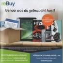Rebuy.de: Kennenlernrabatt für Neukunden