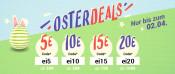 Medimops.de: Oster-Deals – bis zu 20€ ab einem MBW von 100€ sparen (gültig bis 02.04.2018)