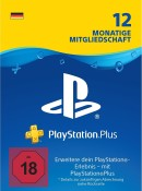 Amazon.de: PlayStation Plus Card 12 Monate (für deutsche SEN-Konten) für 41,99€