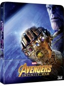 CeDe.de: The Avengers 3 (3D) Infinity War Steelbook für 20,49€ inkl. VSK