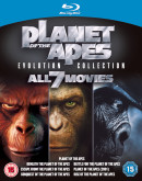 Ebay.de: Planet of the Apes: Evolution Collection [1968] (Blu-ray) für 15,40€ inkl. VSK