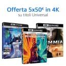 Amazon.it: Universal-Aktion mit 2für12€, 3für15€ oder 5für20€ (Blu-ray) und 5für50€ (4K UHD)