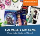 Rebuy.de: 15% Rabatt auf Filme ab 20€ MBW (bis 09.05.18)
