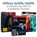 Amazon.it: Neue 50%-Rabatt-Aktion und 6€- bzw. 15€-Rabatt-Aktion