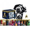 Media-Dealer.de: Star Trek I-X – Steelbook Collector's Box inkl. Anstecknadel + T-Shirt (Blu-ray) für 47,77€ + VSK