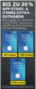 [Lokal] Kaufland: Bis zu 20% iTunes Extra Guthaben (vom 28.06. – 04.07.18)