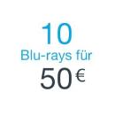 Amazon.de: 10 Blu-rays für 50 EUR – nur für Prime Mitglieder (bis 22.07.18)
