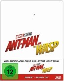 [Vorbestellung] CeDe.de: Ant-Man and the Wasp Steelbook (Blu-ray 3D + Blu-ray) für 24,99€ inkl. VSK