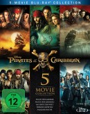 Amazon.de: Pirates of the Caribbean 1-5 Box [Blu-ray] für 28,99€ + VSK
