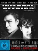 Amazon.de: Infernal Affairs 1-3 – Trilogie – Uncut/Steelbook [Blu-ray] [Limited Edition] für 16,99€ + VSK