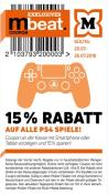 Müller: 15% Rabatt auf alle PS4 Spiele (20.07. – 26.07.18)