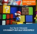 reBuy.de: 15 % Rabatt auf alle Videospiele (am 08.07.18)