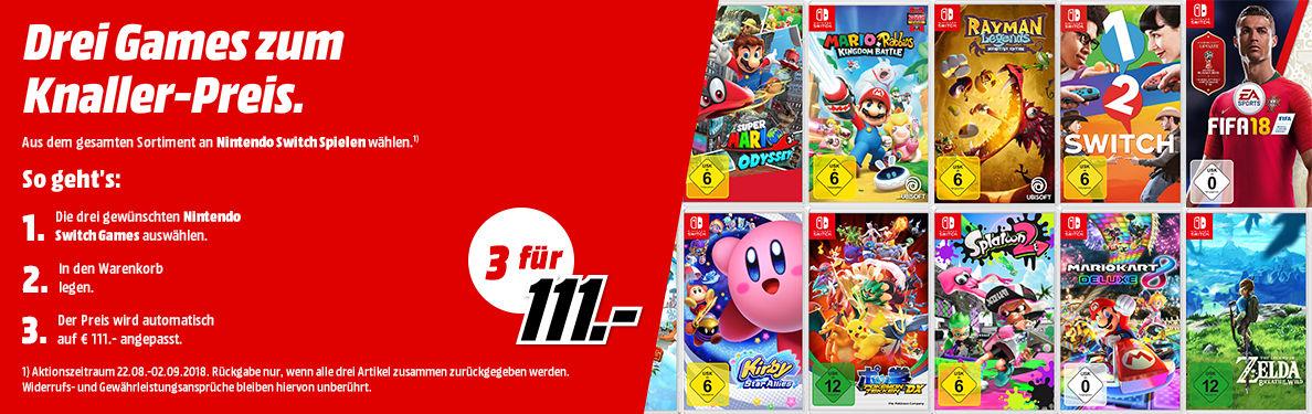 3 Nintendo Switch fur 111