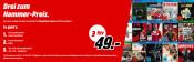 MediaMarkt.de: 3 Spiele für 49€ & 3 Spiele für 79€ & 3 Nintendo Switch Spiele für 111€ (ab 22.08.18)