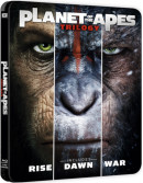 Zavvi.de: Planet der Affen Trilogie – Exklusives Limited Edition Steelbook [Blu-ray] für 22,99€