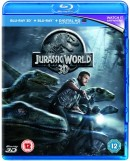 Zoom.co.uk: Jurassic World (3D Edition with 2D Edition inkl. Digital Copy) [Blu-ray] für 3,70€ inkl. VSK