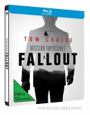 [Vorbestellung] Amazon.de: Mission Impossible 6 Fallout 2D & 4K Steelbook [Blu-ray] ab 22,99€+ VSK