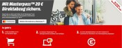 MediaMarkt.de & Saturn.de: 15 EUR Rabatt auf Vorbestellungen mit Masterpass