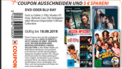 Mueller.de & Filialen: 5€ Coupon auf Fack Ju Göhte 3; MI – 5 Movie Collection; Die Verlegerin; Fifty Shade of Gry III