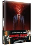 [Vorbestellung] Wicked-shop.com: Scanners Trilogy – Ultimate Edition (3-Disc-Set Collector's Series Nr. 20) [2 Blu-rays & 1 CD] für 59,99€ inkl. VSK