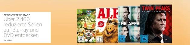 Amazon.de: Serientiefpreistage mit über 2.400 reduzierte Serien (bis 02.09.18)