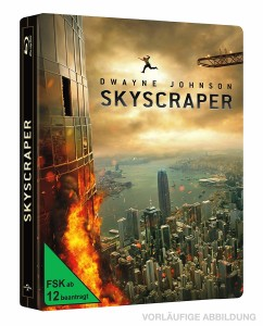 Skyscraper - (2D) Blu-ray Limited Steelbook