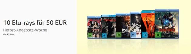 Amazon.de: 10 Blu-rays für 50 EUR & Anime: 3 kaufen, 2 bezahlen (bis 01.10.18)