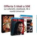 Amazon.it: Neue Aktion 5×50 Universal + VSK