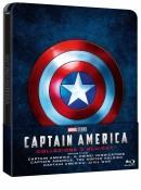 [Vorbestellung] Amazon.it: Captain America Trilogie (Limited Steelbook Edition) [Blu-ray] für 29,99€ + VSK