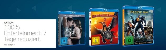 Amazon.de: 7 Tage Entertainment – Filme und Serien reduziert (bis 23.09.18)