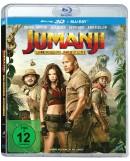 Amazon & Media Markt & Saturn.de: Jumanji: Willkommen im Dschungel [3D Blu-ray + 2D Blu-ray] für 8,52€