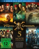 Amazon.de: Pirates of the Caribbean 1-5 [Blu-ray] für 21,99€ + VSK