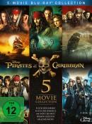 Amazon.de: Pirates of the Caribbean 1-5 [Blu-ray] für 21,99€ + VSK