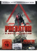 Amazon.de: PREDATOR 1-3 Steelbook [4k Ultra HD Blu-ray] für 56,99€