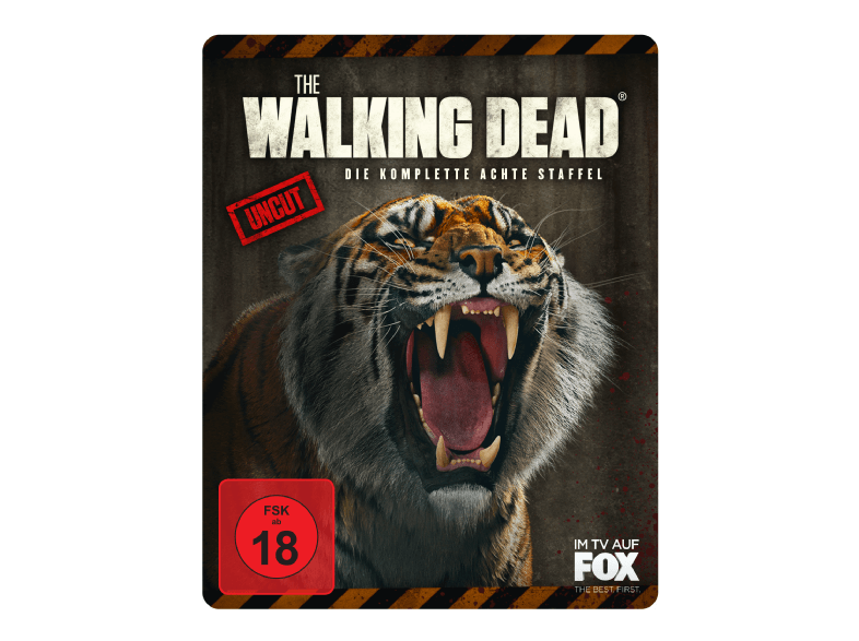Walking Dead 8 Steelbook