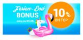 Momox.de: 10% Ferien-End-Bonus auf Deinen Verkauf (bis 09.09.2018)