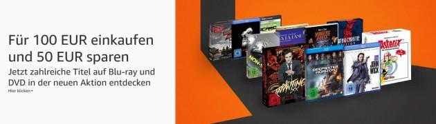 Amazon.de: Für 100 EUR kaufen – 50 EUR sparen (bis 21.10.18)