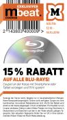 Mueller.de: 15% Rabatt auf alle Blu-rays (12.10 – 18.10.18)