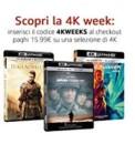 Amazon.it: Neue Aktionen z.B. 4K Week, 3x Warner (4K, Box-Set, Serie) für 35€