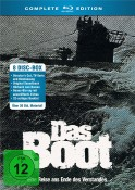 Amazon.de: Das Boot – Complete Edition (+ Bonus-BR) (+ CD-Soundtrack) (2 Hörbücher) [Blu-ray] für 24,97€ + VSK
