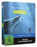 [Vorbestellung] Amazon.de: Meg 4K und 3D Steelbook (exklusiv bei Amazon.de) [Blu-ray] [Limited Edition] für 39,99€ bzw. 29,99€ inkl. VSK