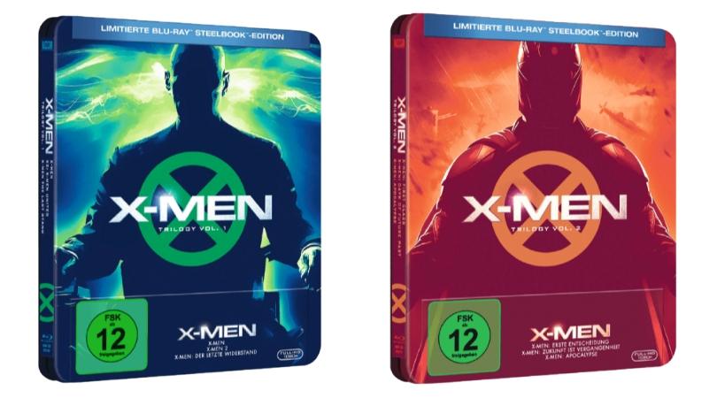 X-MEN-TRILOGIE-COLL.-1-Steelbook-Blu-ray