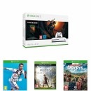 Amazon.co.uk: Xbox One S 1TB Fortnite console w/ Eon Cosmetic set & 2000 V-Bucks + FIFA19 + Assassins Creed Odyssey Ltd. Edition + Far Cry 5 Ltd. Edition für 229,99 ₤ + VSK