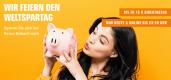Saturn.de: Weltspartag-Angebote mit Preisnachlass von bis zu 75€ (nur heute gültig)