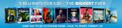 Zoom.co.uk: 5 für 31€ (Diverse Boxen und 3D Filme)