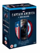 Amazon.co.uk: Captain America 1-3 [Blu-ray]  und Thor 1-3 Box Set BD [Blu-ray]  für je £19.99 + VSK