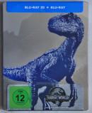 [Review] Jurassic World: Fallen Kingdom – 3D Steelbook (MM-/Saturn-exklusiv)